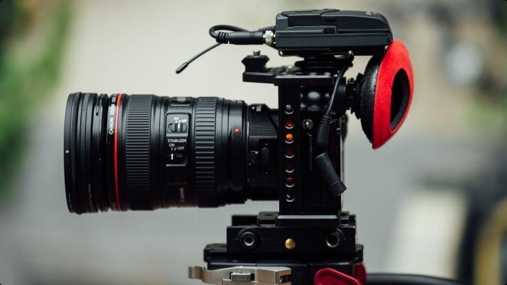 Video Camera, Lens, Accessories