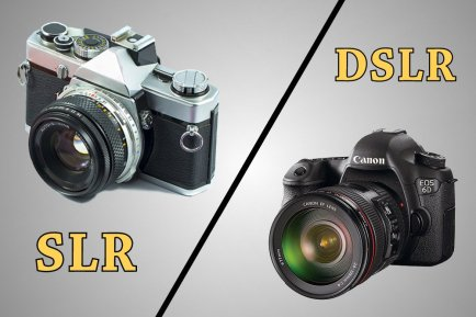 SLR-Vs-Dslr