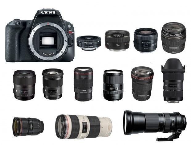 Camera Rental - Lens rental